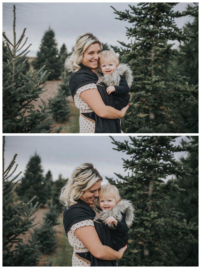 Des Moines | Christmas tree farm in Des Moines | Des Moines photographer | Iowa photographer | midwest photographer | Kara Vorwald photography | Family photography | Carrol Iowa
